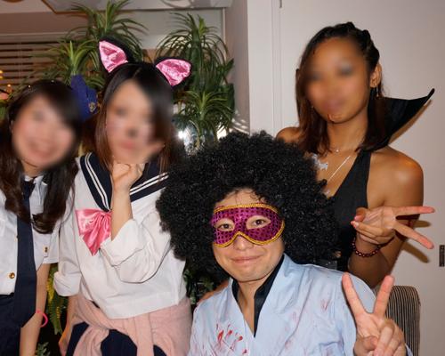 ハロウィンパーティー名古屋女性の方のコスプレが多いです